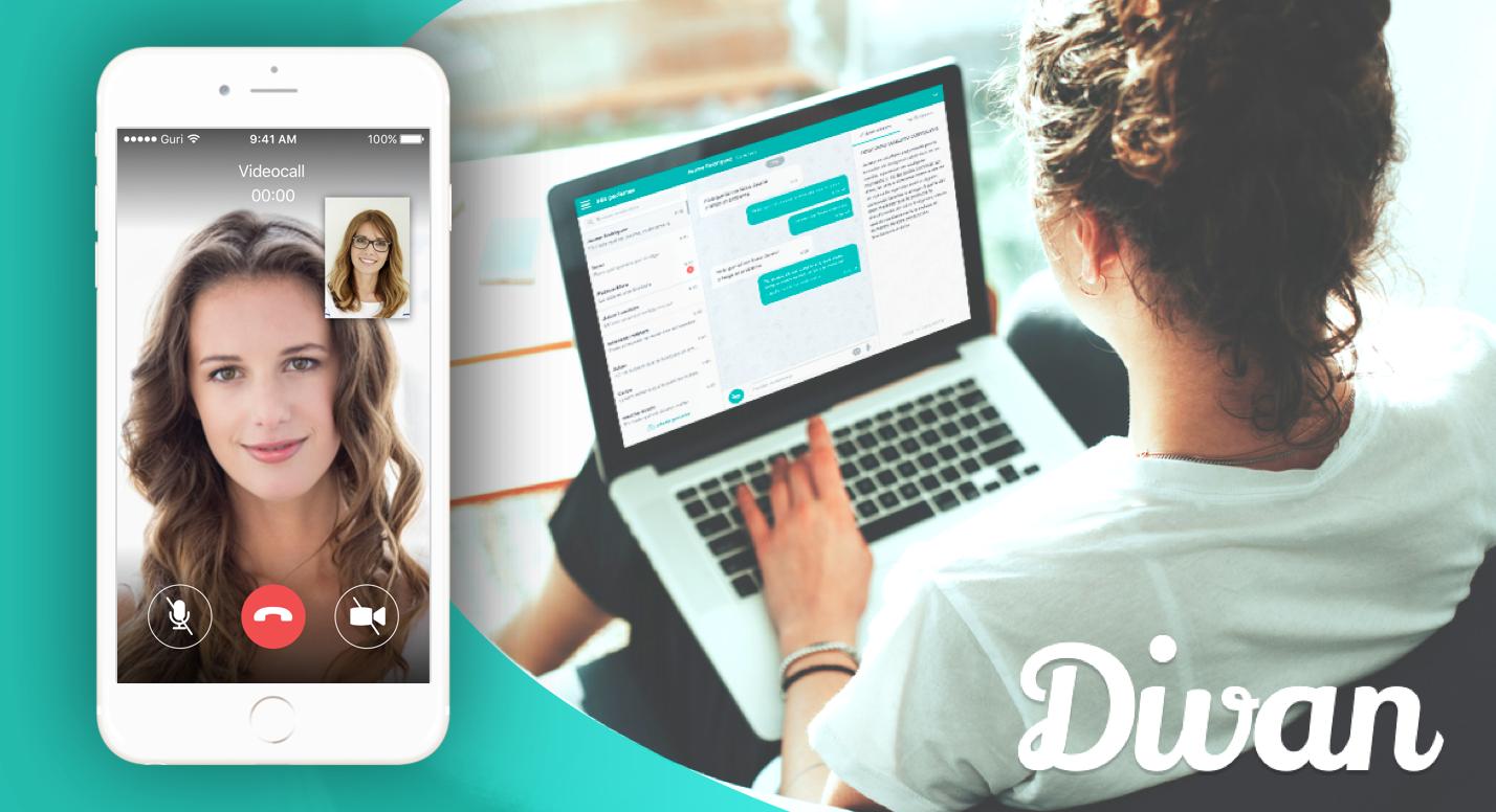Cómo funciona la aplicación Divan: Guía para profesionales